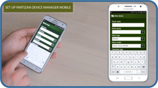 partizan device manager mobile